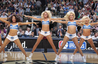 Official Hosiery of the Dallas Mavericks Dancers